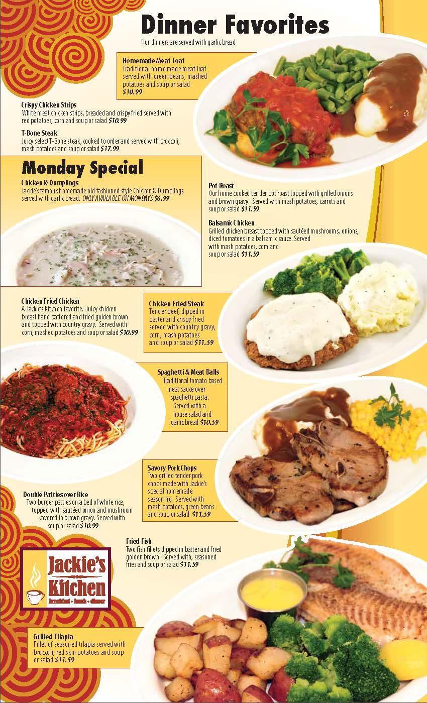 Jackie's Kitchen - Breakfast-Lunch-Dinner
