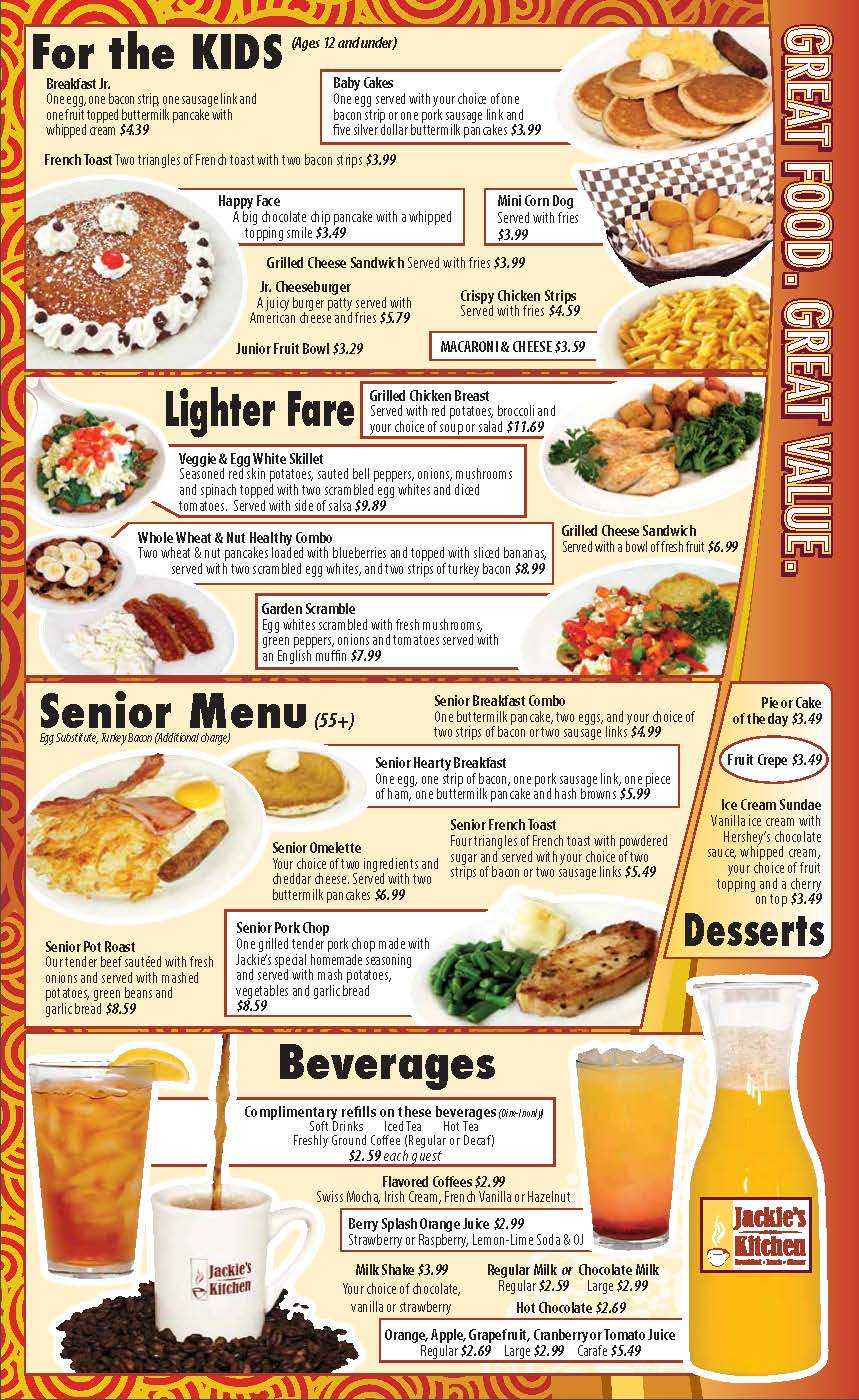 Jackie\'s Kitchen - Breakfast-Lunch-Dinner